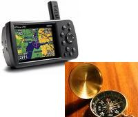 GPS-brújula