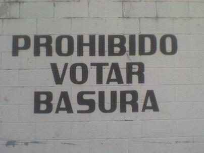 votar_basura