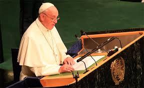 Francisco en la ONU