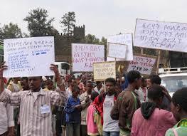 Manifestación contra la ley antiterrorista de Etiopía