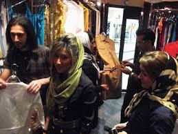 De compras en Teherán