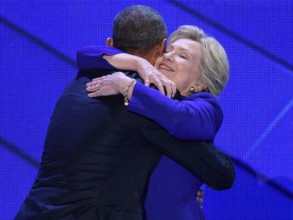 Obama y Hillary