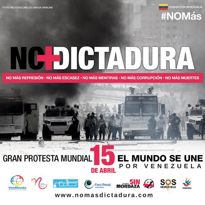 No más dictadura